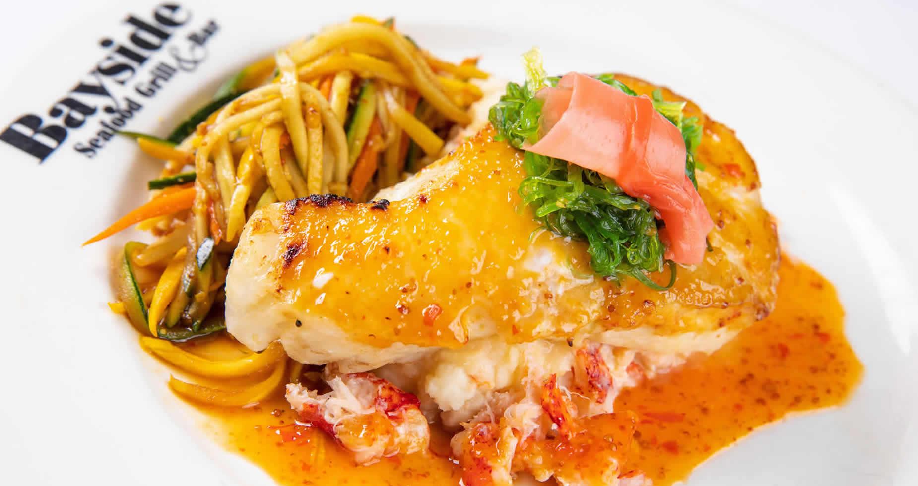 Seafood Entree at Bayside