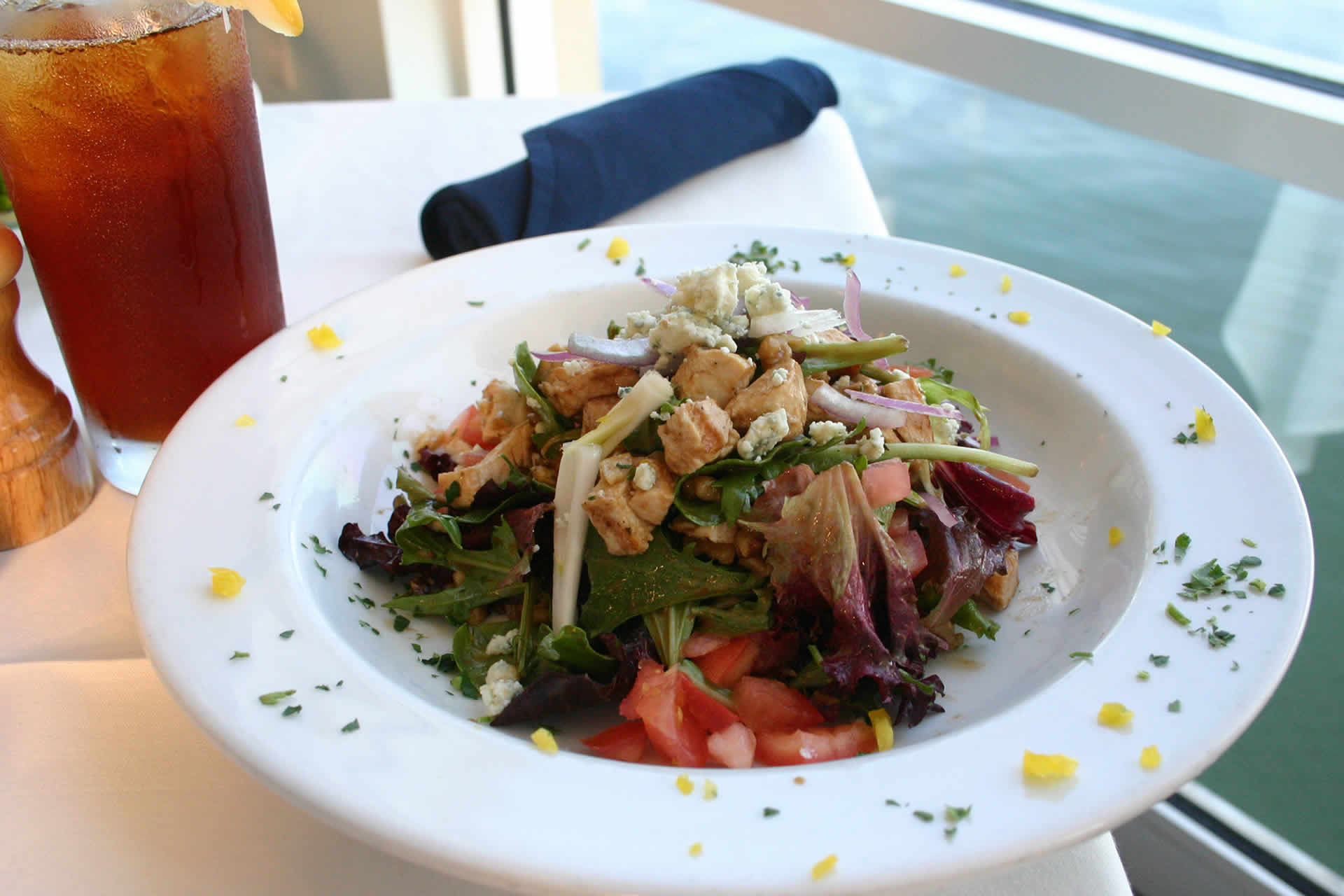Grilled Chicken Salad at Bayside