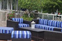 Bayside Upper Deck Lounge Seating