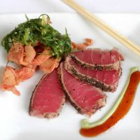 Bayside's Ahi Tuna Appetizer