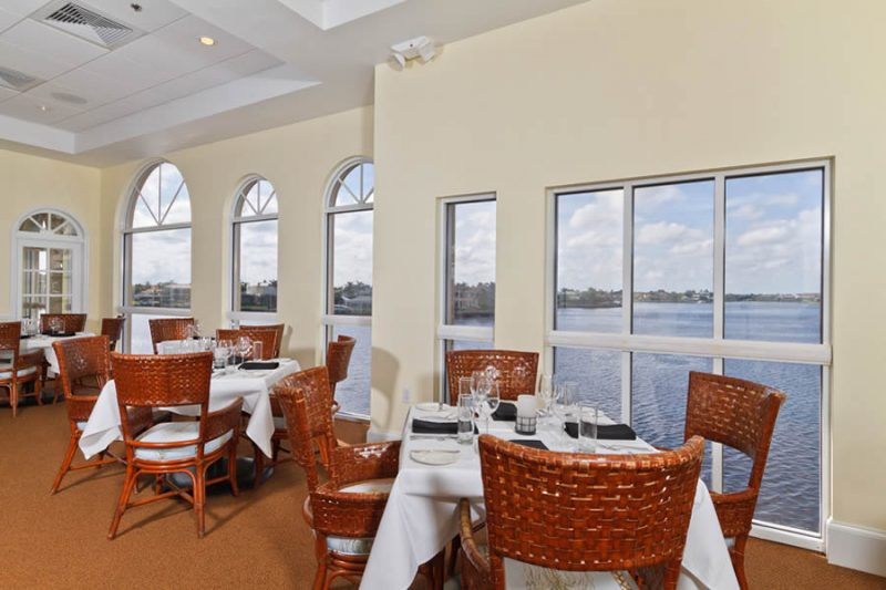 Bayside's Grill with Water Views