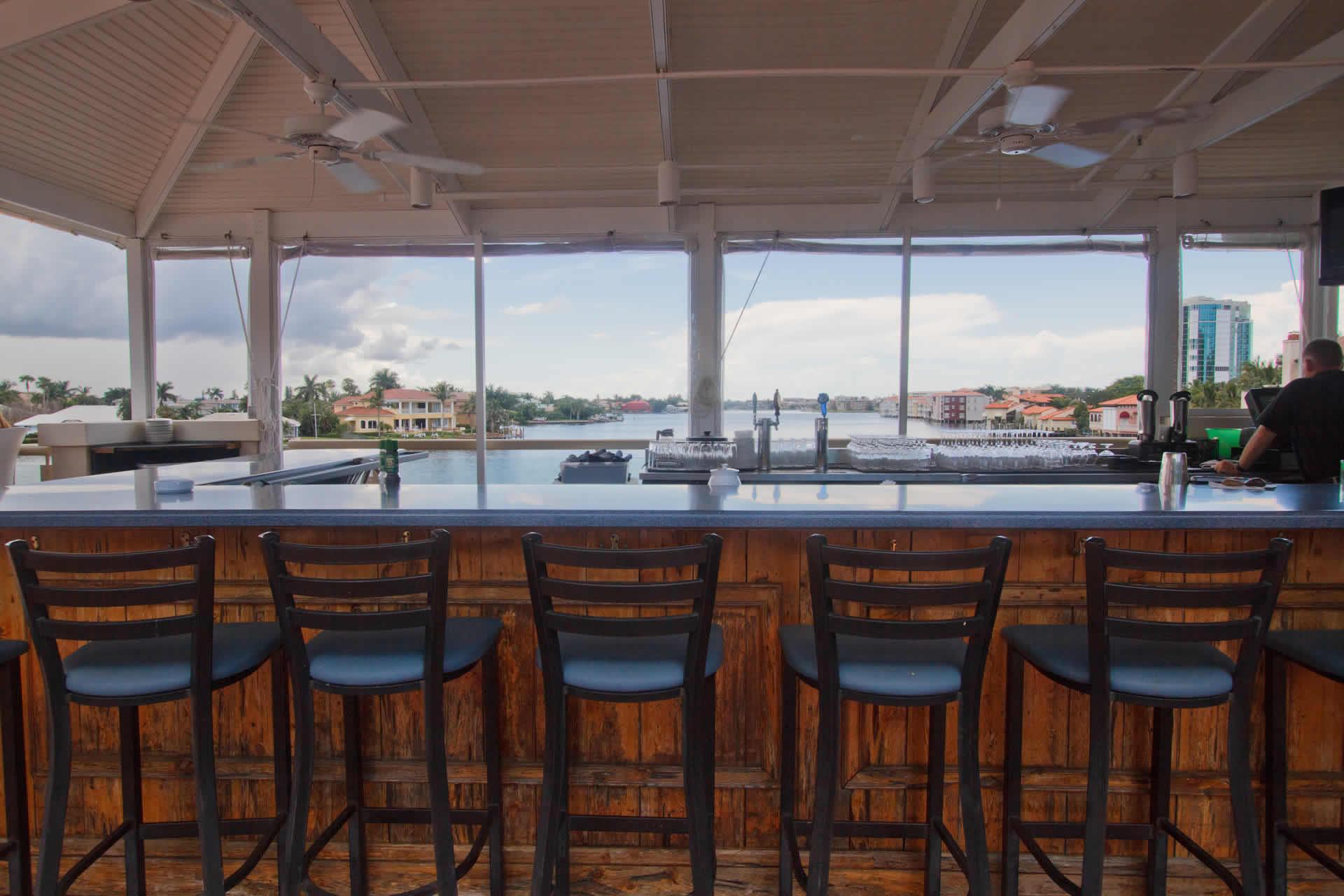 Bayside's Upper Deck Bar