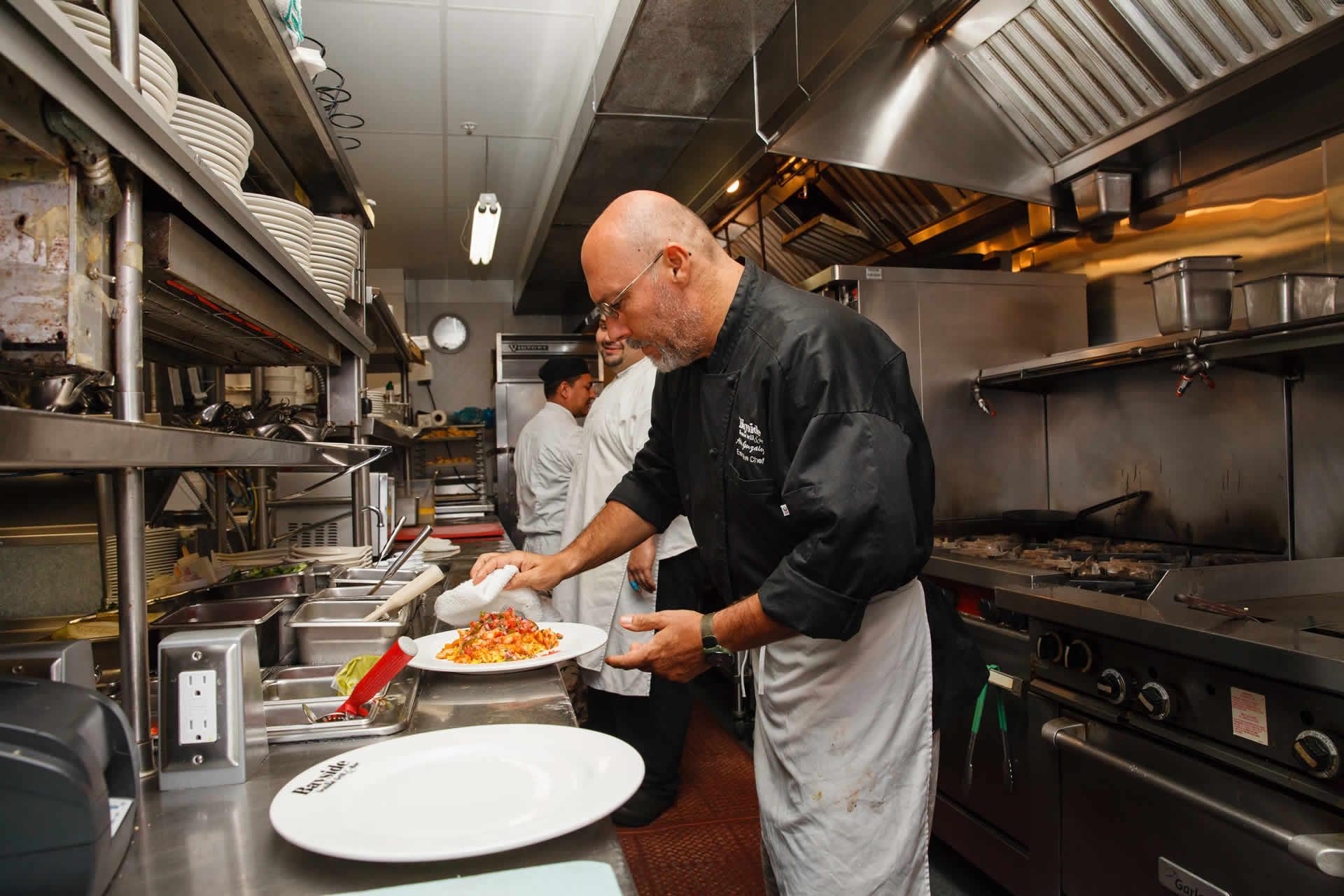 Chef Abel Gonzalez